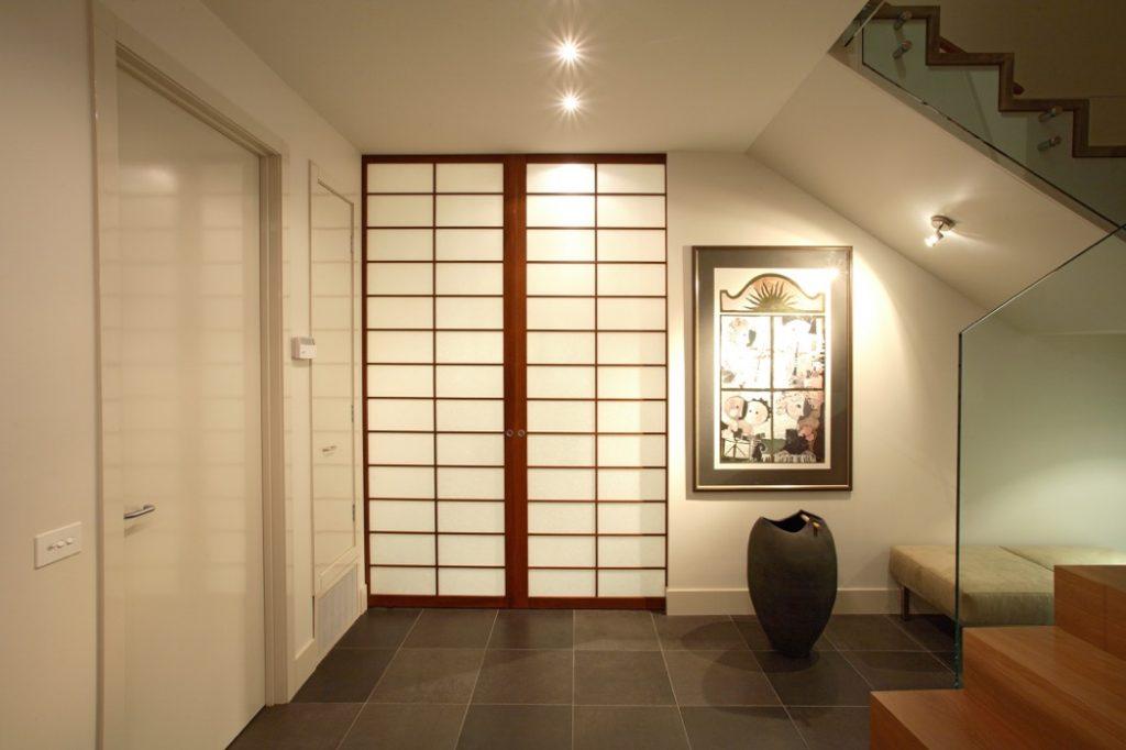 room divider shoji door closed