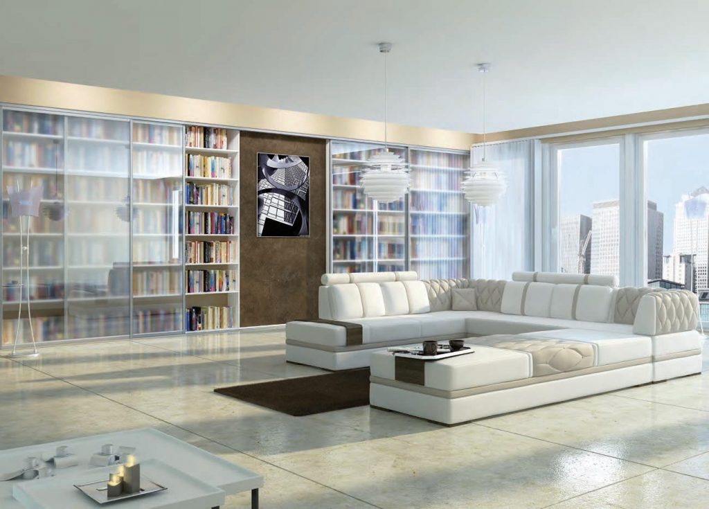 book shelf sliding doors