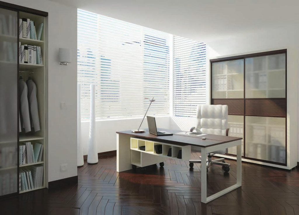 small office sliding doors