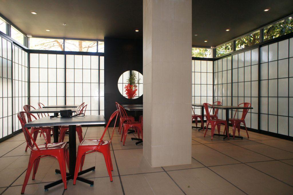 cafe shoji room divider