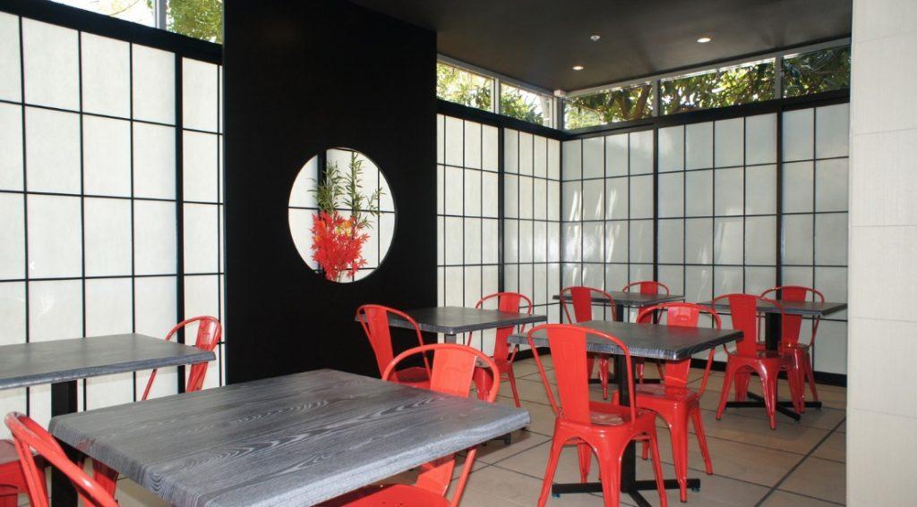 cafe shoji doors