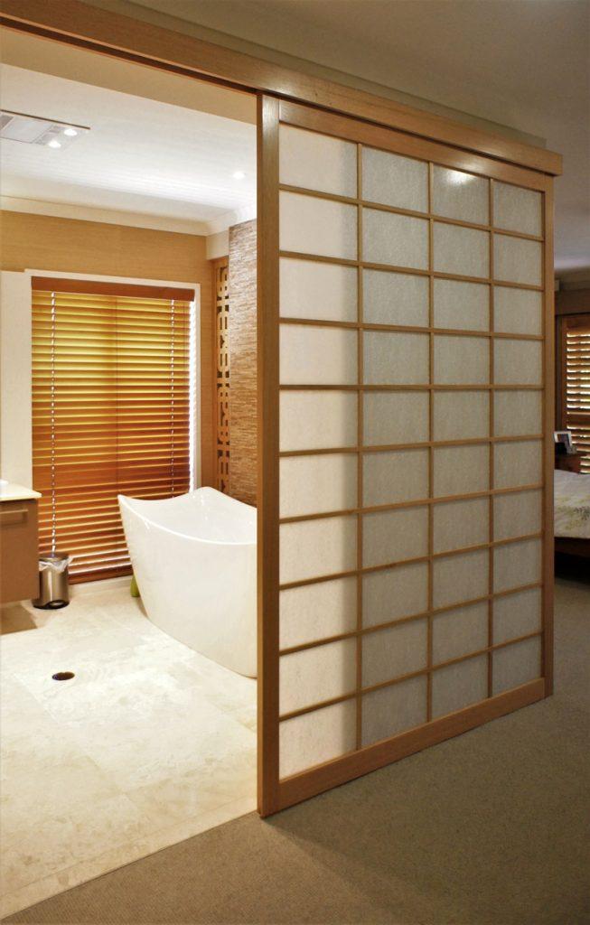 shoji screen bathroom 2