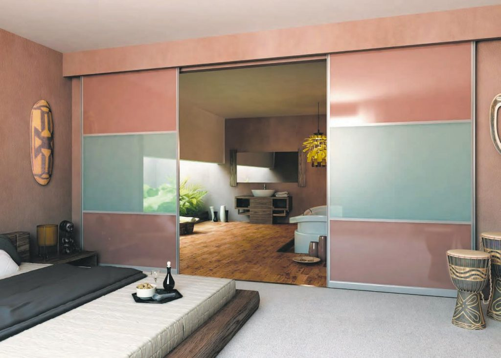 room divider pink