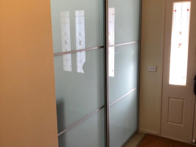 Two door room divider
