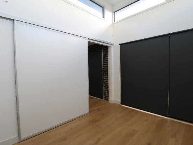 White melamine office doors