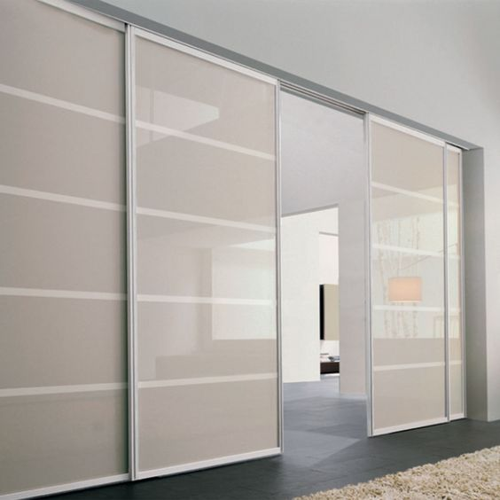 4 panels - 2 fixed room divider