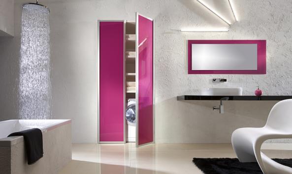 pivot doors - wardrobe