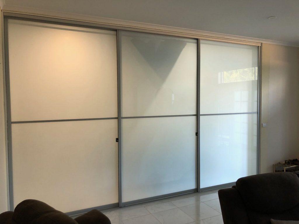 room divider installed