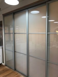 Pearcedale room divider install