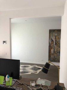 home office door opening