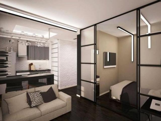 black frame room divider