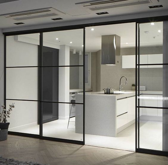 A500 Kitchen sliding door