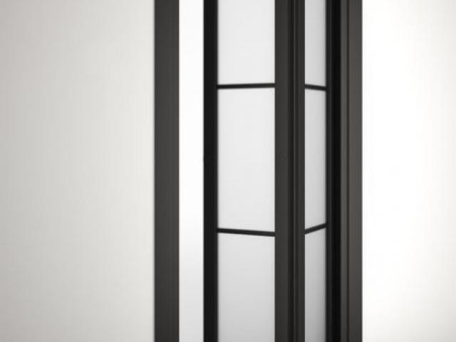 a800 folding end room divider